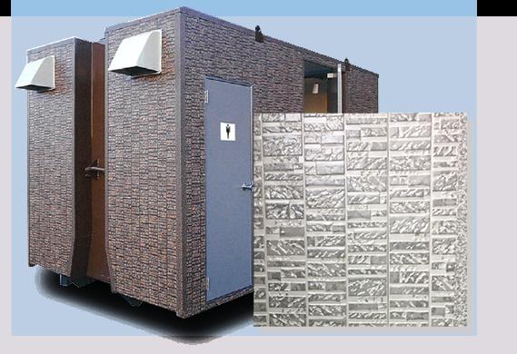 外壁に使われるサイディング仕上げでトイレとは思えない上質さに。